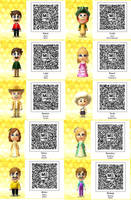 Tomodachi Life-Super Mario QR Codes by TheSingettesRBack