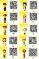 Tomodachi Life-Super Mario QR Codes by TheSingettesRBack