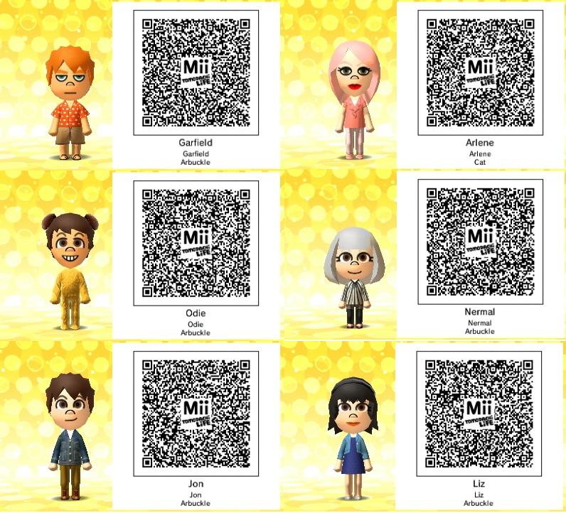 Tomodachi Life Qr Codes Ness 240 X 54 Kb Jpeg Quotes