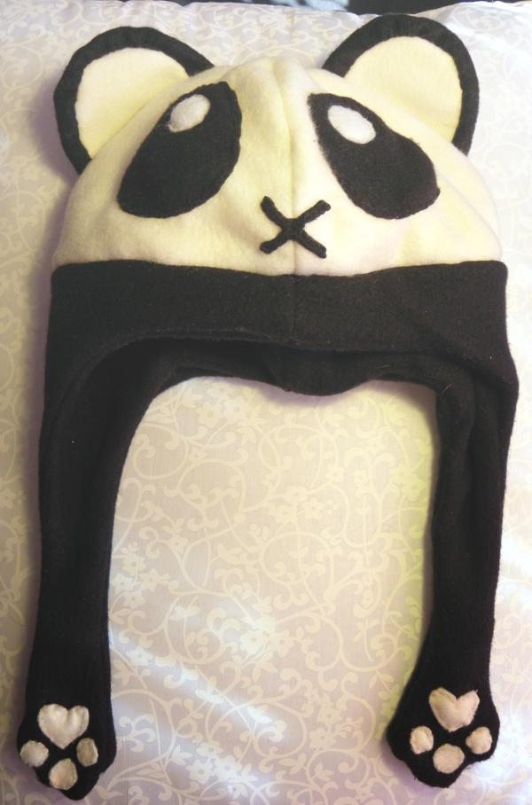 Panda hat by MikilofSouthern