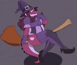 Witch by Takkuun
