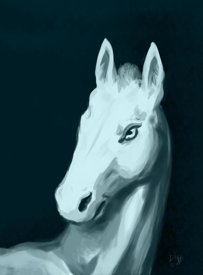 White Horse or not by Bersayap