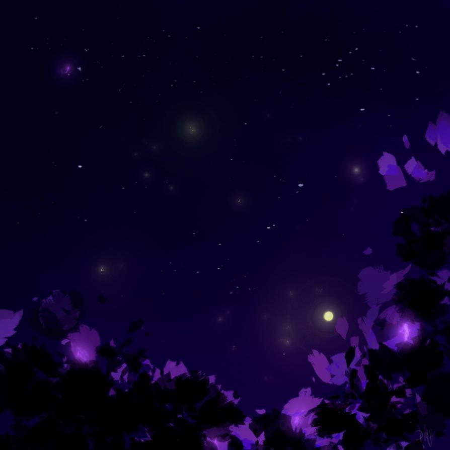 Night melody by Bersayap