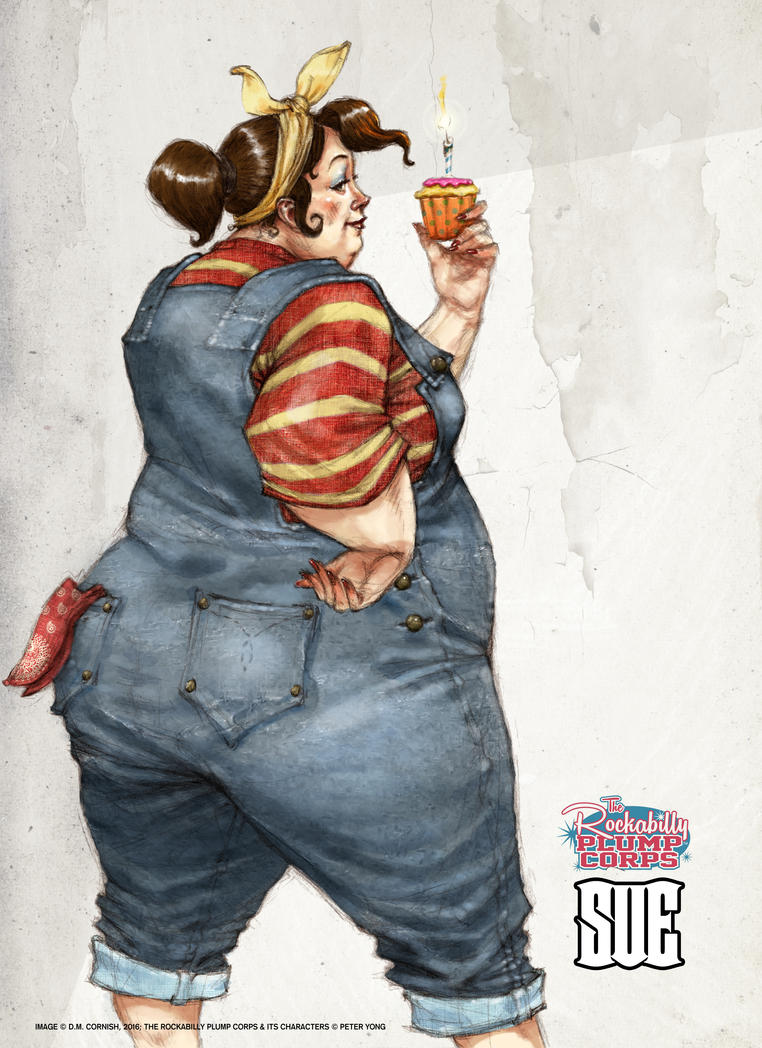 Rockabilly Plump Corps by Peter Yong by Fouracres