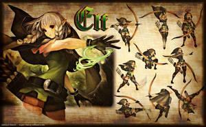 Dragon's Elf by UltimAXE