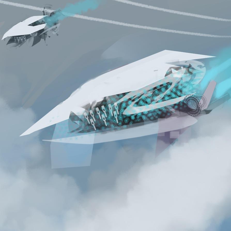 Spaceship by Firegardensuite