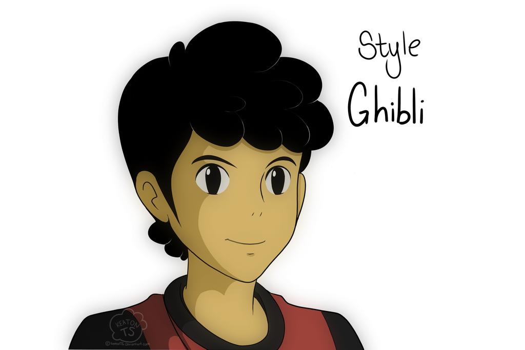 Style: Ghibli by KeatonTS