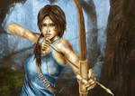 Lara Croft Reborn 2013