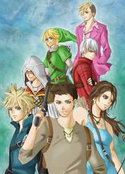 Games Crossover by Tsukishibara