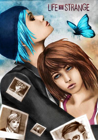 Chloe and Max Friends forever by Tsukishibara