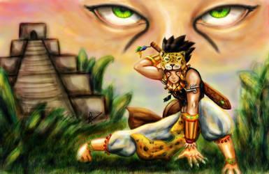 Mi guerrero maya