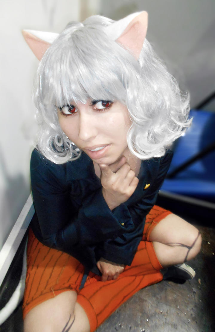 neferpitou cosplay 4 by Dorapz