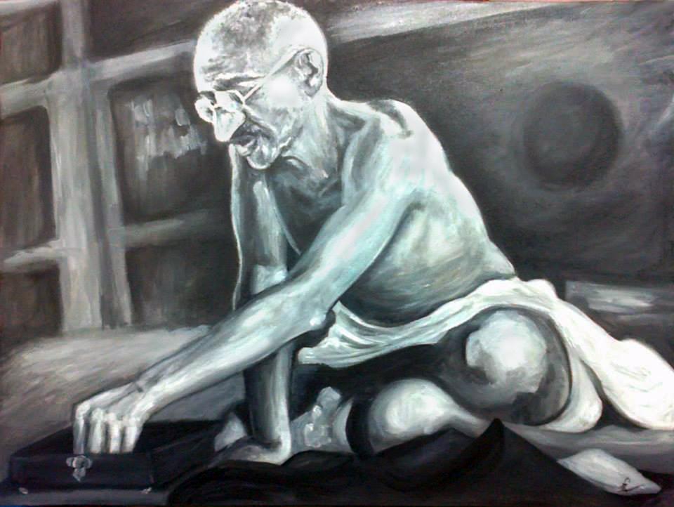 gandhi by Dorapz
