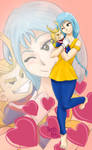 Kasumi in Love-Comision