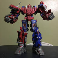 Transformers: Combiner Wars - Nexus Prime: Reborn by AvatarKiba