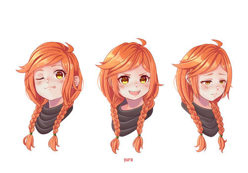 Azafina (Expression Study COMMISSION)