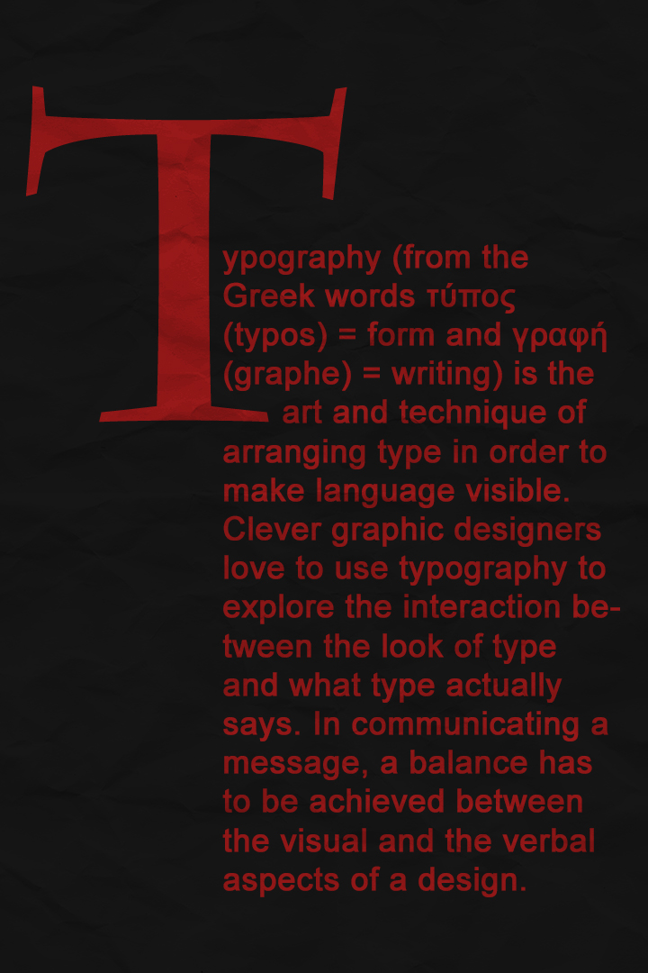 Define Typography By Gigahertzzz On Deviantart