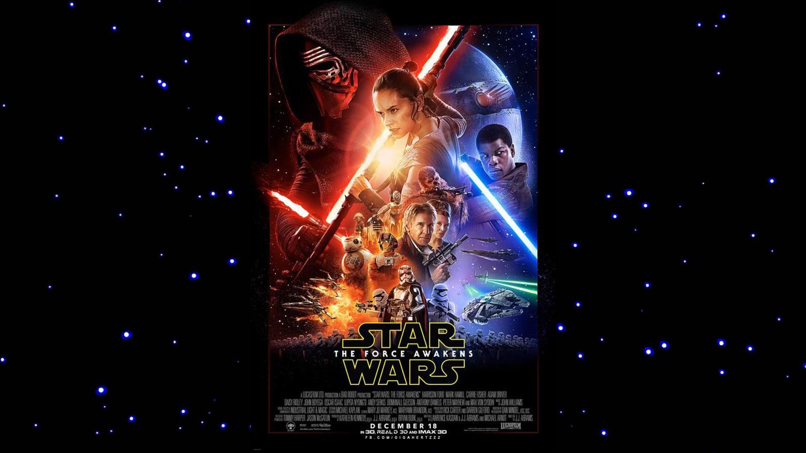 Star Wars The Force Awakens Wallpaper 1920 X 1080 By Gigahertzzz