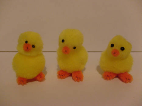 pipecleaner chicks