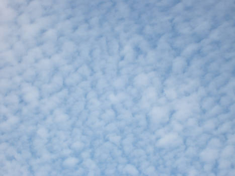 cotton wool clouds
