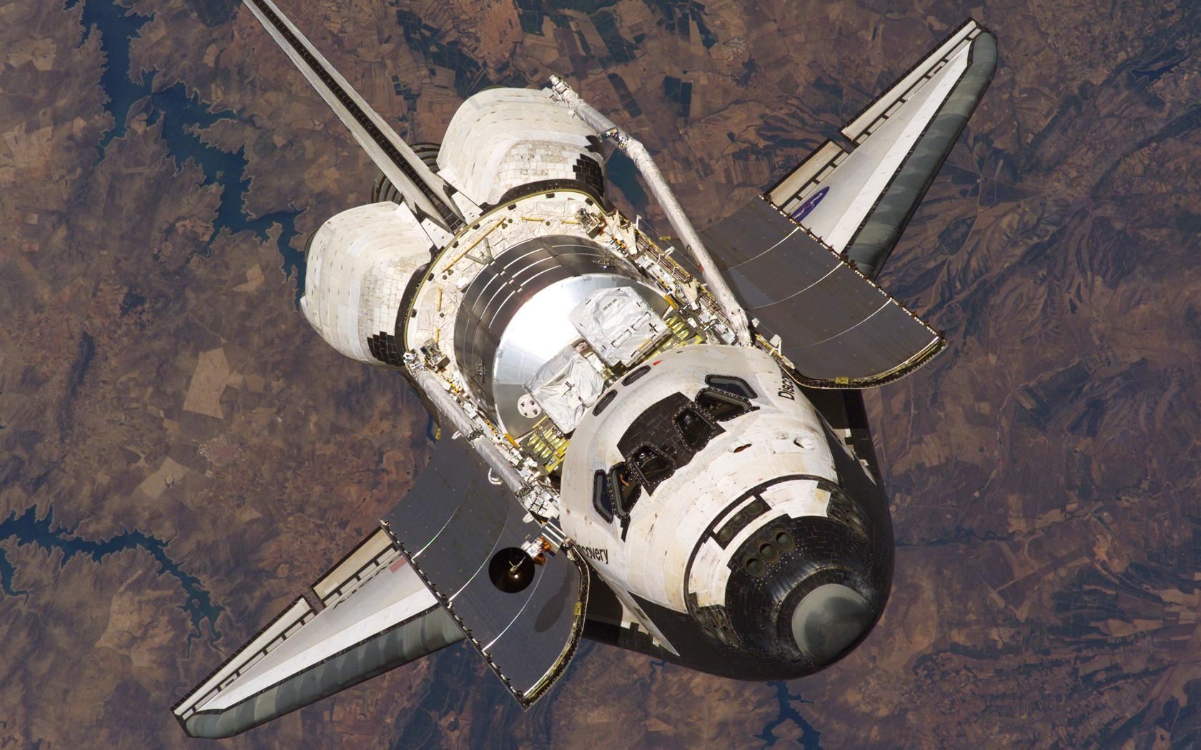 nasa space shuttle in orbit - photo #4