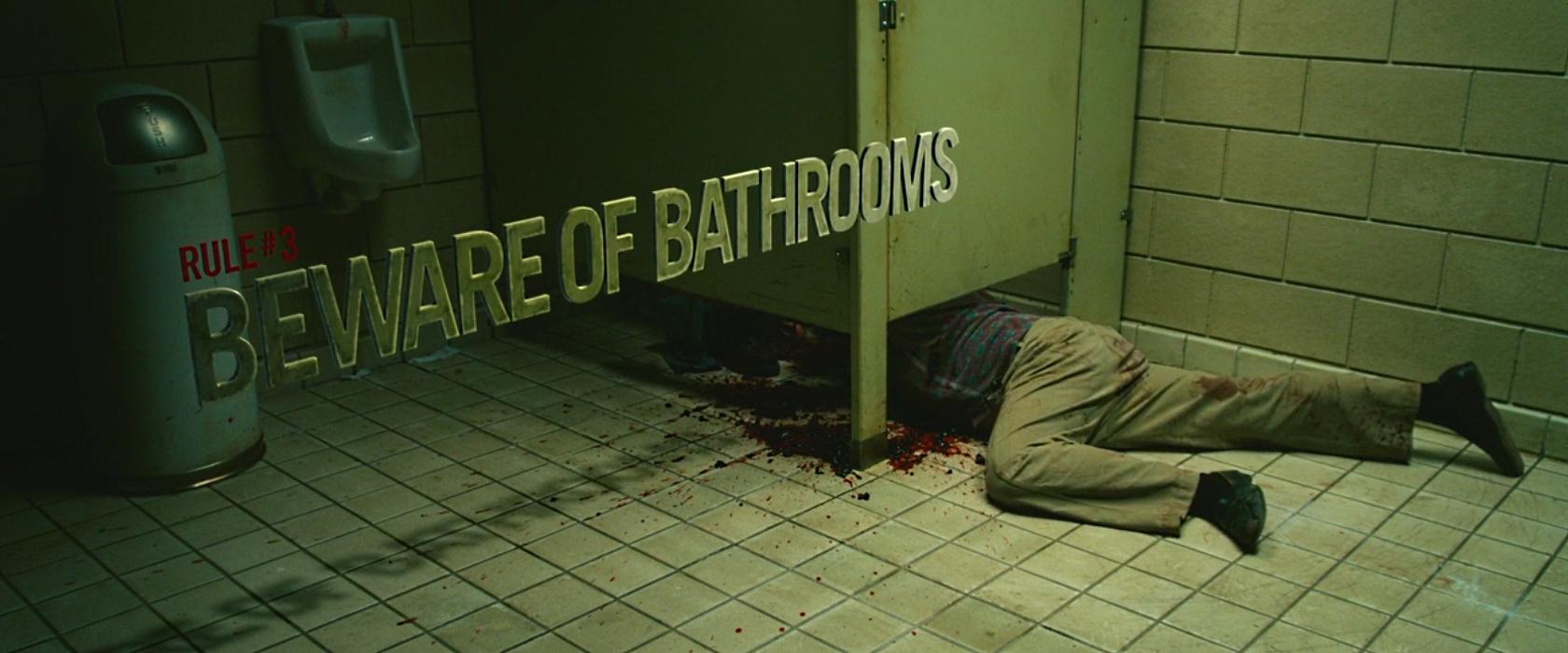 Rule 3 Beware Of Bathrooms By Bubimandril On Deviantart