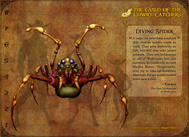 GotCC : Diving Spider by BoKaier
