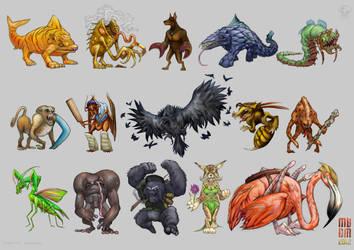 Mega Beast Death Match 2012 Heat 10+11+12