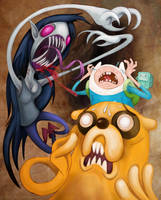 Adventure Time - The Vampire Queen! by BoKaier