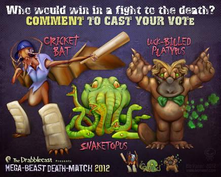 Mega-Beast Death-Match 2012 - Round 2