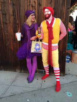 Hip Ronald and Grimace