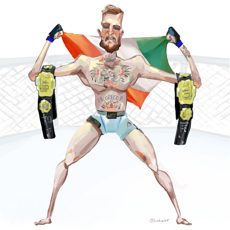 Conor McGregor by BoKaier
