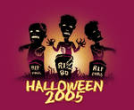 Halloween 2005 Zombie Graphic