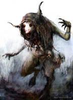 insane beastman by chrzan666