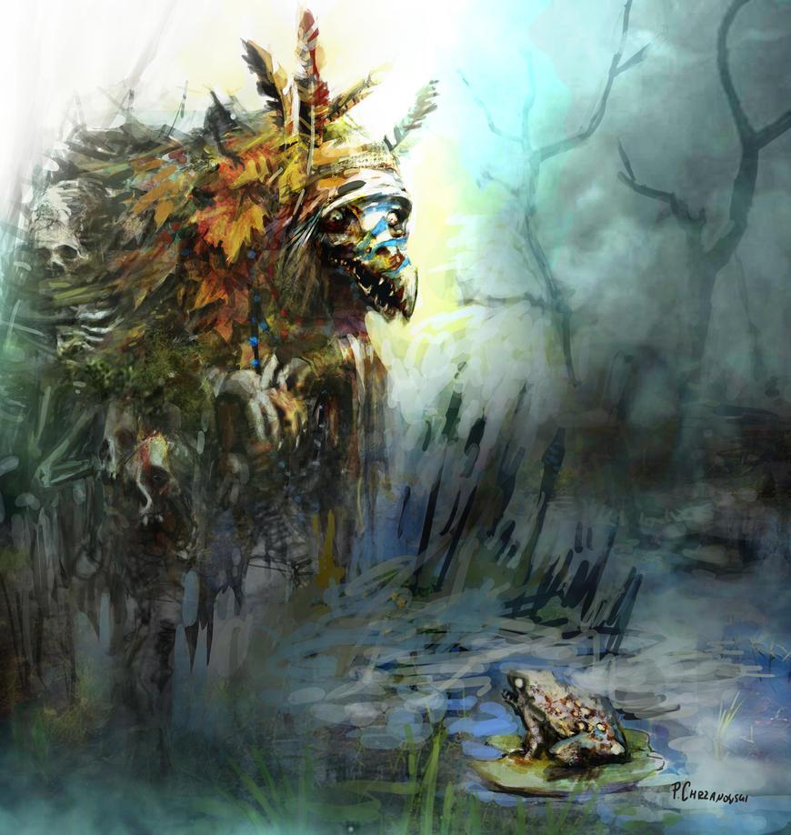 Swamp Hag by chrzan666