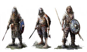 Gaelic Irish Raiders A4