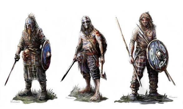 Gaelic Irish Raiders A4