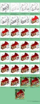 House progress by windship
