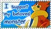 Buizel stamp by Elee-chan
