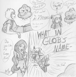 Finn-teractions: Lumpy Space Princess