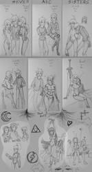 The Arcs And Dumpsketchia by oobidoobi