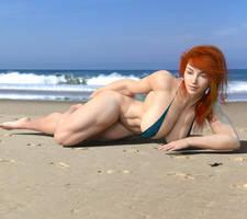 Selina at the beach (Remake)