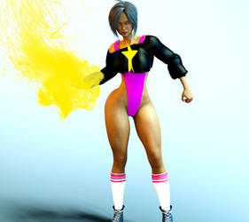 Cometstar's new costume