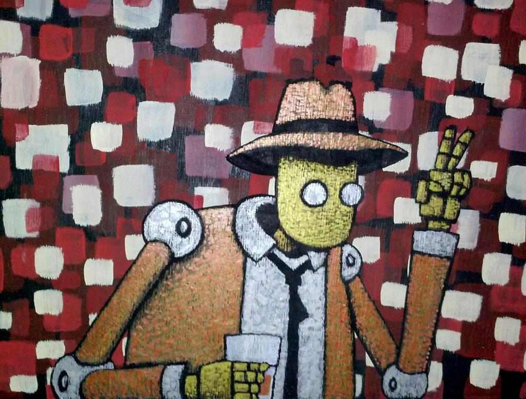 Lush Bot by legumebean