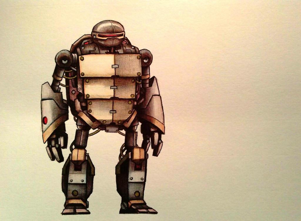 Metalhead watercolor