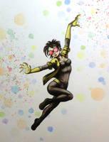 Jubilee watercolor by ChainsawTeddybear