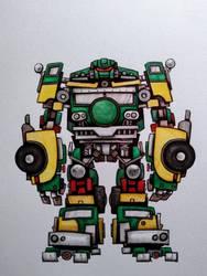 Transformers/TMNT mashup: Sewershell