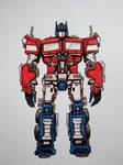 Transformers: Bumblebee Movie Optimus Prime