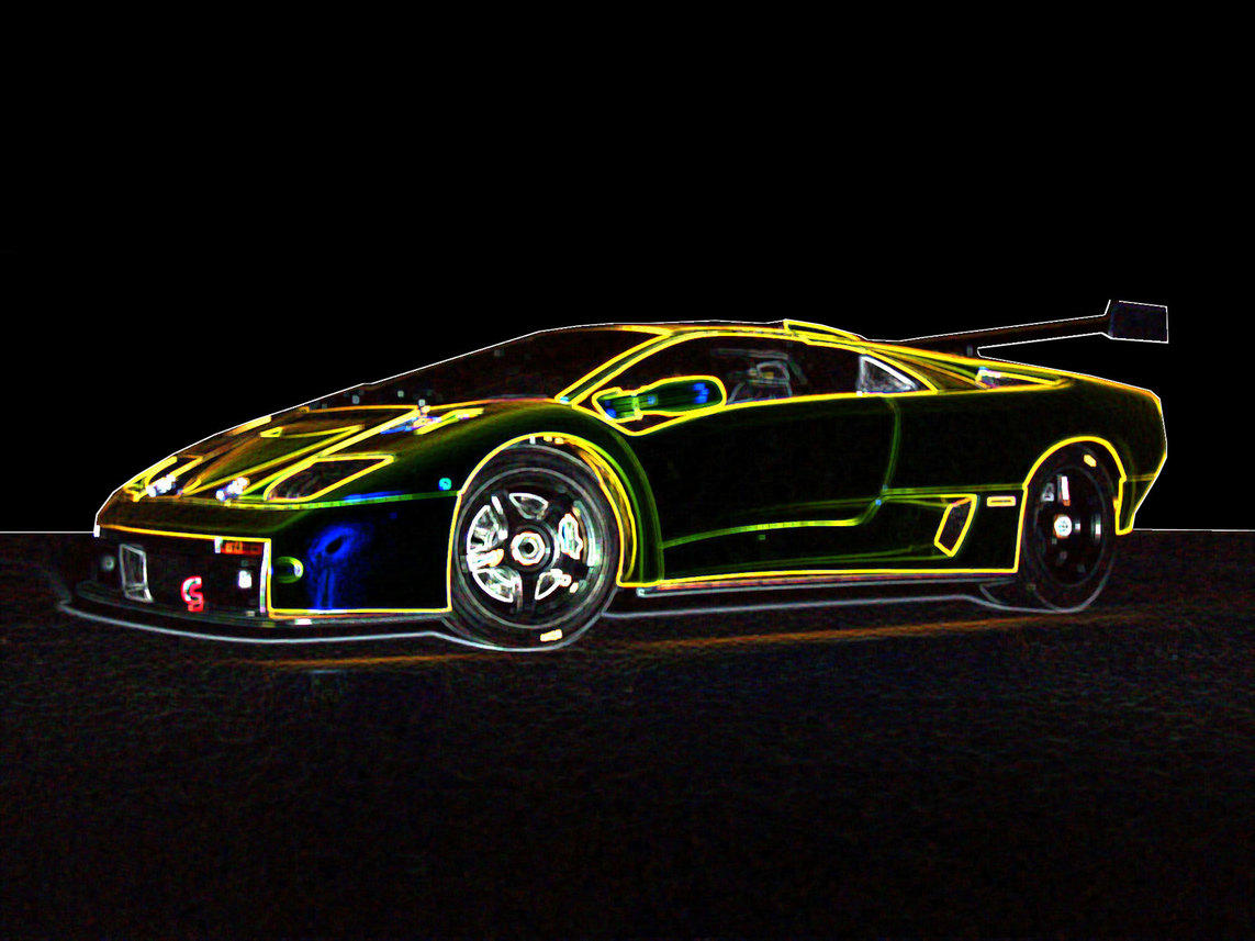 Image Gallery Glowing Lamborghini