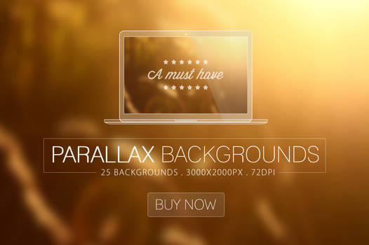 Parallax Blurred Backgrounds